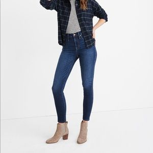 """Madewell 10"""" high rise jeans, Insuluxe edition"""
